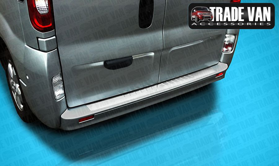 Buy online Renault Trafic Rear Bumper Protector Covers from Trade Van Accessories for Renault Van Styling & Style